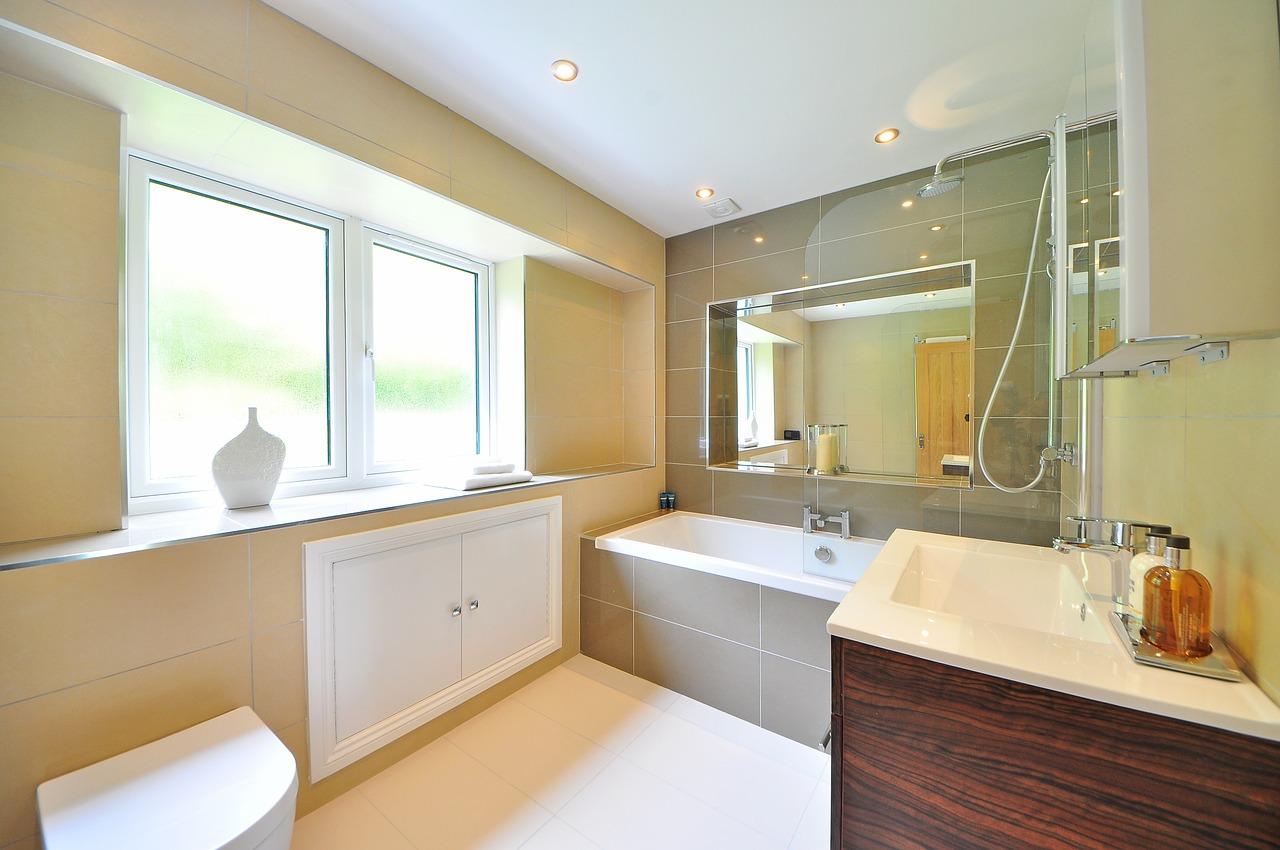 Limpeza De Casa De Banho De Moradia