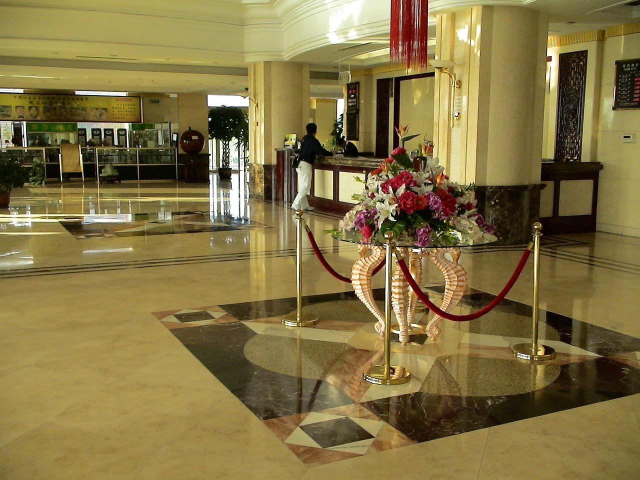 Limpeza De Receção De Hotel